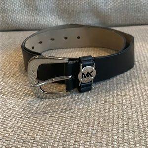 Michael Kors 1 1/2 in. Black Belt